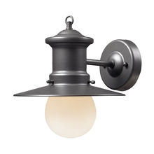 ELK Lighting 42405/1 - Maritime 1 Light Outdoor Wall Sconce In Graphite