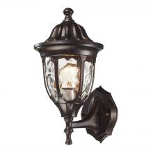 ELK Lighting 45000/1 - Glendale 1 Light Outdoor Wall Mount In Regal Bro