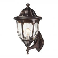 ELK Lighting 45001/1 - Glendale 1 Light Outdoor Wall Sconce In Regal Br