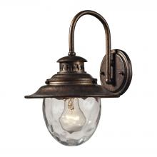 ELK Lighting 45030/1 - Searsport 1 Light Outdoor Wall Sconce In Regal B
