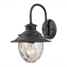 ELK Lighting 45040/1 - Searsport 1 light Outdoor Sconce In Weathered Ch