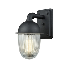 ELK Lighting 45250/1 - Channing 1 Light Outdoor Wall Sconce In Matte Bl