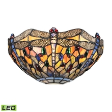 ELK Lighting 72077-1-LED - Dragonfly 1 Light LED Wall Sconce In Dark Bronze