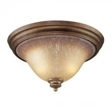 ELK Lighting 9319/2 - Lawrenceville 2 Light Flushmount In Mocha And An