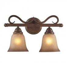 ELK Lighting 9321/2 - Lawrenceville 2 Light Vanity In Mocha With Antiq