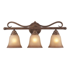 ELK Lighting 9322/3 - Lawrenceville 3 Light Vanity In Mocha With Antiq