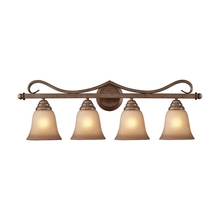 ELK Lighting 9323/4 - Lawrenceville 4 Light Vanity In Mocha With Antiq