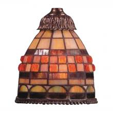 ELK Lighting 999-10 - Mix-N-Match 1 Light Jewelstone Tiffany Glass Sha