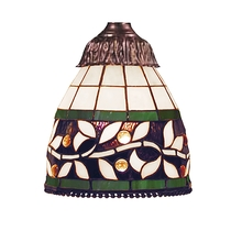 ELK Lighting 999-13 - Mix-N-Match 1 Light English Ivy Tiffany Glass Sh