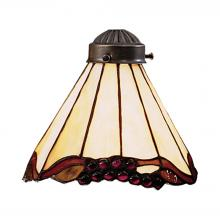 ELK Lighting 999-3 - Mix-N-Match 1 Light Stained Honey Dune Glass Sha