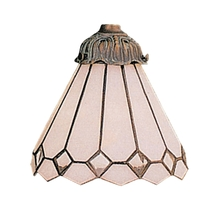 ELK Lighting 999-4 - Mix-N-Match 1 Light White Tiffany Glass Shade