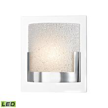 ELK Lighting BVL1201-0-15 - Ophelia 1 Light LED Vanity In Chrome And Clear G