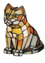 "Meyda Tiffany 11332 - 7""H Cat Accent Lamp"