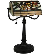"Meyda Tiffany 130760 - 15""H Vineyard Banker's Lamp"