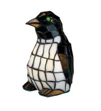 "Meyda Tiffany 18470 - 8""H Penguin Accent Lamp"
